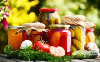 Технологии консервирования овощей