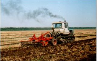 Поверхностная и мелкая обработка почвы