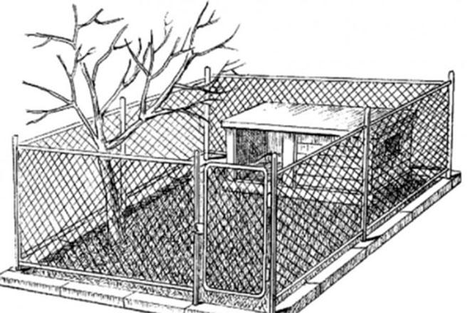 Клетка для нутрий с вольером