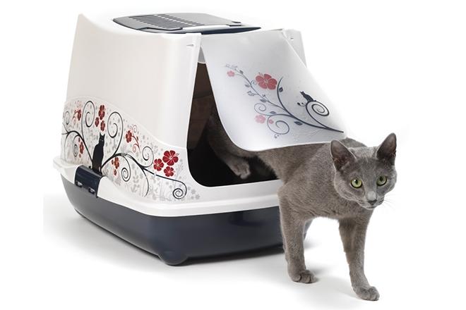 Лоток для котов в виде домика