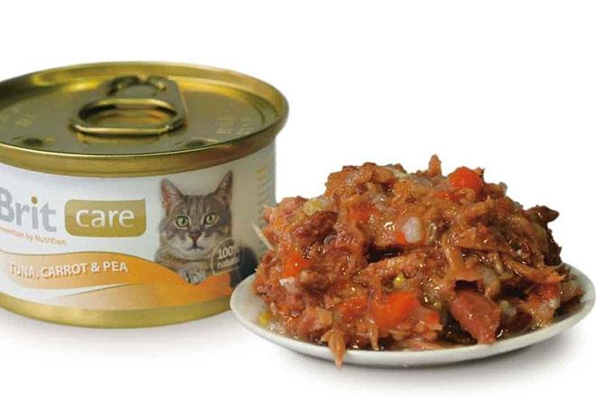 Консервы для кошек Brit Care